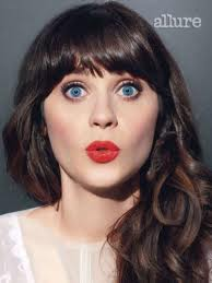 Zooey Deschanel: My Bangs Hide The Three Moons That Revolve Around My Eyeballs.