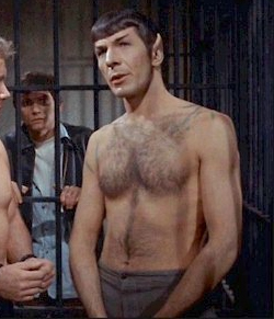 Spock: My Vulcanic Eruptions Register A 12 On The Richter Scale.