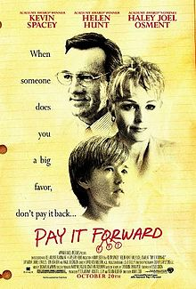 pay it forward poster wikipedia